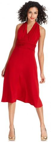 Evan Picone Sleeveless Marilyn Dress