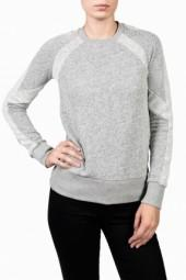 19 4T Crew Neck Panel Sweatshirt Char
