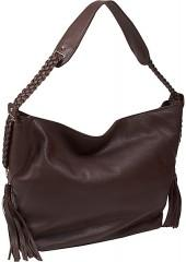 Derek Alexander Large Open Top Hobo With Braided Strap