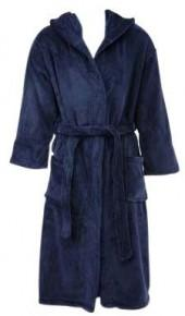 [h1]Peacock Alley Serenity Hooded Robe, Navy, Small[/h1]