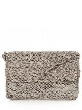Studded Snake Crossbody Bag