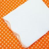 Oliver B 2-Piece Scallop Crib Bedding Set in Orange-Burst