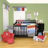 Trend Lab® Dr. SeussTM Cat in the Hat 3-Piece Crib Bedding Set