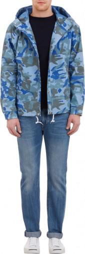 nanamica Camo Hooded Cruiser Jacket
