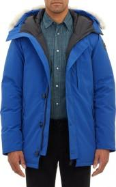 """Canada Goose Fur-Trimmed Hooded """"Chateau"""" Park"""