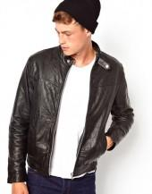 ASOS Leather Bomber