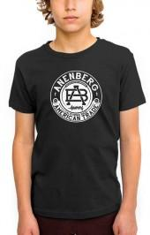 Anenberg Black Crest Youth Tee
