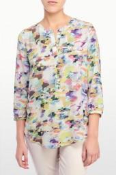 Spring Camo 3/4 Sleeve Blouse