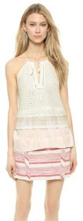 Thakoon Addition Double Layer Tank