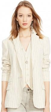 Polo Ralph Lauren Striped Linen Jacket