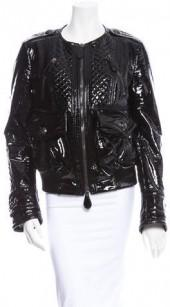 Burberry Prosum Patent Leather Jacket