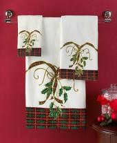 "Lenox Bath Towels, Holiday Nouveau 27"" x 50"" Bath Towel"