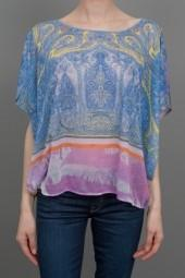 Clover Canyon Paisley Printed Blouse