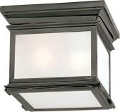 E.F. Chapman SMALL CLUB SQUARE FLUSH MOUNT