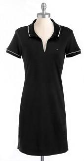 Solid Polo Dress