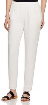 Eileen Fisher Silk Slouchy Pants