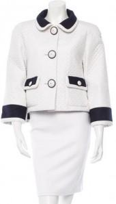 Chanel 2015 Wool-Trimmed Jacket w/ Tags
