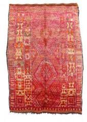 "Vintage Talsint Moroccan Berber Rug, 5'3"" x 7'10"" feet"