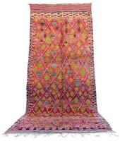 "Vintage Talsint Moroccan Berber Rug, 6'2"" x 15'0"" feet"