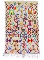 "Vintage Azilal Moroccan Berber Rug, 3'9"" x 6'0"" feet"