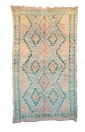 "Vintage Talsint Moroccan Berber Rug, 6'1"" x 10'2"" feet"
