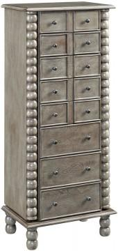 Asstd National Brand Painted Jewelry Armoire