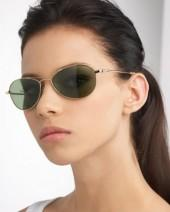 Oliver Peoples Aero Metal Sunglasses