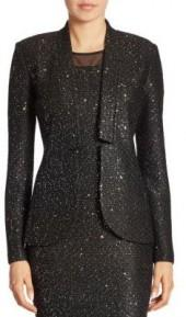St. John Wool Sequin Jacket