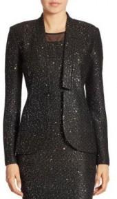 St. John Wool Sequin Jacket