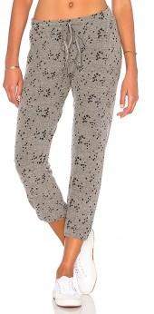 Michael Lauren Shepherd Lounge Pant in Gray