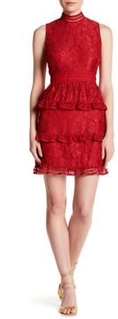 CeCe by Cynthia Steffe Brea Floral Lace Dress