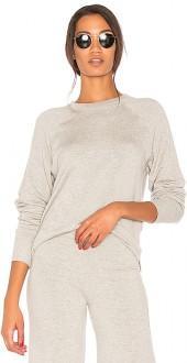 Splits59 Warm Up Pullover in Light Gray