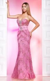 MNM Couture - 7979 Embellished Sweetheart Sheath Dress