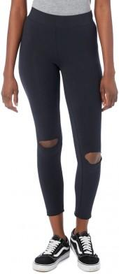 Slashed Cotton Modal Spandex Jersey Legging