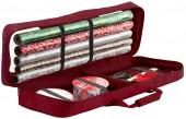 Seasons Wrapping Paper & Supplies Organizer Storage Duffel Bag