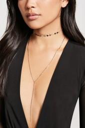 FOREVER 21 Drop Necklace Set