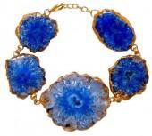 "Semi-Precious Stone Bracelet ""Reef Runner"""