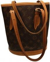 Bucket cloth handbag