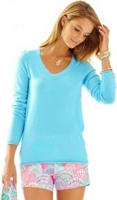 Lilly Pulitzer Diana Cashmere Pullover Sweater