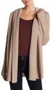 Joie Hooded Wool Cardigan