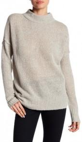 360 Cashmere Kirby Cashmere Mock Neck Sweater