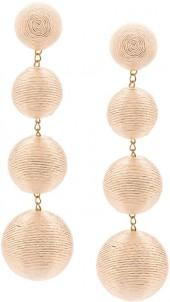 Rebecca De Ravenel bead drop earrings