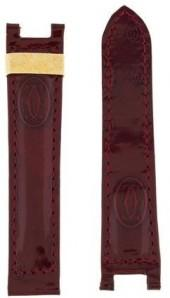 Cartier 18mm Patent Leather Watch Strap