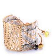 Mishky Mali & Misty Cutout Beaded Bracelet Set
