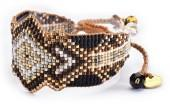 Mishky Melted & Bar Beaded Bracelet Set