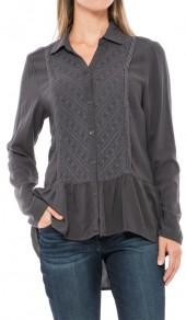 North River Solid Woven Tunic Shirt - Long Sleeve (For Women)