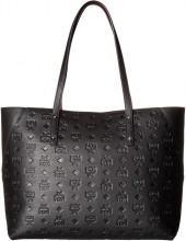 MCM - Klara Monogrammed Leather Top Zip Medium Shopper Tote Handbags