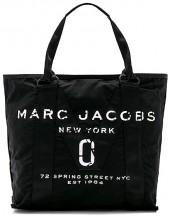 Marc Jacobs New Logo Tote in Black.
