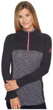 Columbia - Tested Tough in Pink Outerspaced 1/2 Zip Women's Long Sleeve Pullover