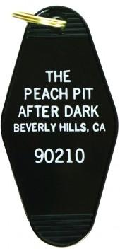 Greenwich Letterpress Peach Pit After Dark Key Tag